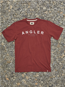 Just Another Fisherman ANGLER TEE, MAROON