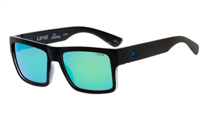 Liive Animal - Mirror Polar Floatized Sunglasses, Shiny Black
