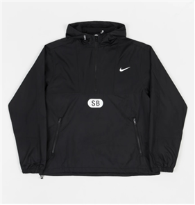 Nike SB MARCH RADNESS ANORAK JACKET, BLK/WHT