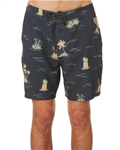Hurley PHANTOM BS ISLAND HOP 1  BOARDSHORT, ANTHRACITE