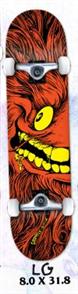 Anti Hero GRIMPLE FULL FACE LG SKATE COMPLETE