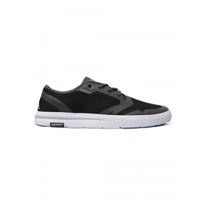 Quiksilver Mens Amphibian Shoe, Black Grey White