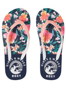 Roxy Rg Pebbles V G Sandal, Vintage Indigo(VGO)