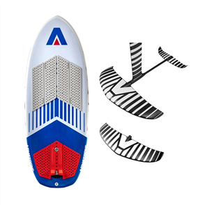 """Armstrong Foils CF1200/HS1550 Foil Package and Surf Kite Tow 4'5.5"""""""