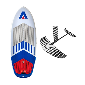 """Armstrong Foils CF1600 Foil Package and Surf Kite Tow 4'11"""""""