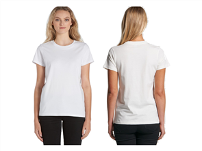 AS Colour Maple Organic Tee, White