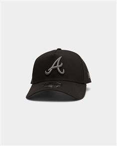 NewEra 940AF ATLBRA Q220 GRAPHITE POP CAP, ATLANTA BRAVES