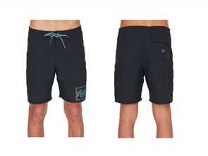 Billabong Atlas Jacquard Boardshort, Black