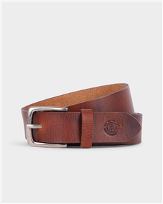 Element FOUNDATION LEATHER BELT, BROWN