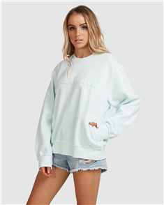 Billabong DAWN BREAK CREW, PALE BLUE