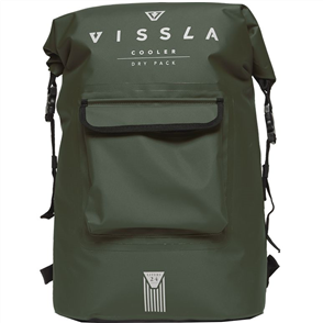 Vissla Ice Seas Dry Pack, Military Green