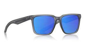 Dragon Baile Sunglasses, Matte Crystal Shadow H2O Blue (Mick fanning Sig)