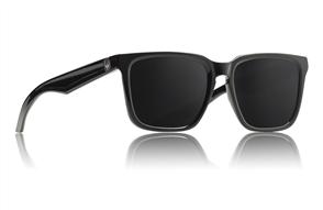 Dragon Baile Sunglasses - Shiny Black I Smoke (Mick Fanning Sig)