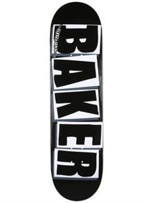 Baker DECK BRAND LOGO BLK/WHT 8.25