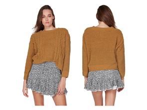Billabong All Mine Sweater, Beeswax