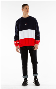 iLabb BEFORE CREW, RED/NAV/WHT