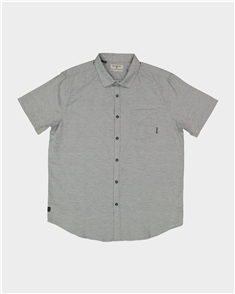 Billabong All Day Helix SS Shirt, Light Grey