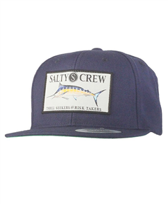 Salty Crew Billfish Patched Hat, Navy
