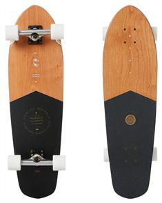 Globe Big Blazer Skate Longboard Cruiser, Black / Cherry