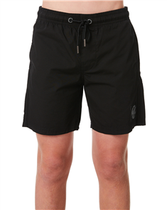 Santa Cruz Cruzier Solid Short - Youth, Black