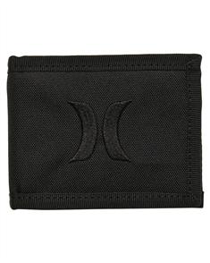 Hurley Renegade Solid Wallet, Black