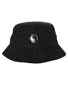 T&C TERRY BUCKET HAT, BLACK