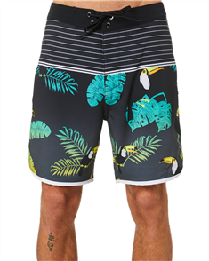 "Hurley PHANTOM NEOTROPICAL 18"" BOARDSHORT, Black"