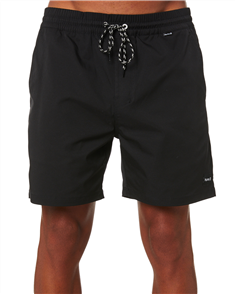 Hurley OAO  VOLLEY 17IN BOARDSHORT, BLACK