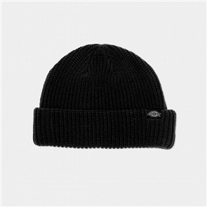 Dickies SEATTLE FISHERMAN BEANIE, Black