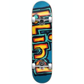 Blind OG Box Out FP Prem Skate Complete, Black/Blue