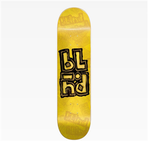 Blind OG Stacked Stamp RHM Deck, Yellow