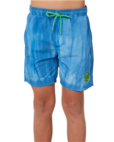 Santa Cruz Conjurer Tie Dye Youth Short, Blue