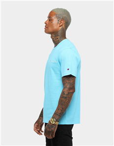 Champion HERITAGE SHORT SLEEVE TEE, BLUE HORIZON