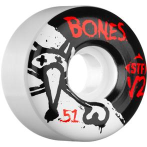 Bones STF Team Series V2 Wheels, Size 51mm