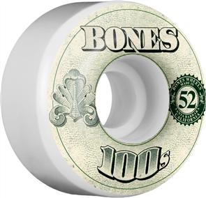 Bones Wheels 100'S