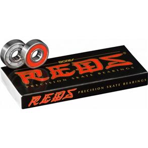 Bones Reds 8mm Bearings 8pack