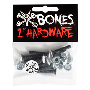 Bones Wheels Hardware, Black