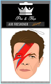 Pro & Hop Rock N Roll - Bowie Air Freshener