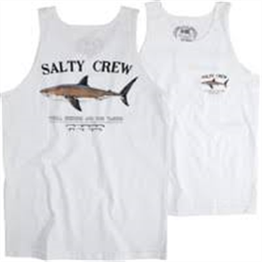 Salty Crew Bruce Tank, White