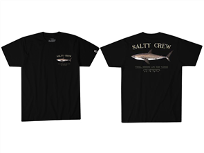Salty Crew Bruce Short Sleeve Tee, Black