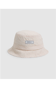 RVCA WOMENS PATCH BEACH BUCKET HAT, SAND