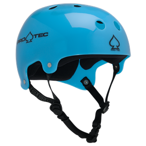 Protec Classic Bucky Helmet, Trans Blue