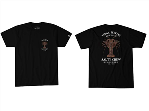 Salty Crew Bugging Out Short Sleeve Tee, Black