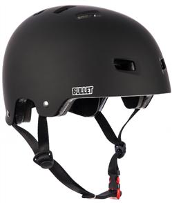 Bullet Deluxe Matte Black Skate Helmet