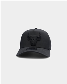 New Era 940AF CHICAGO BULLS Q121 CAP, BLK BLK PRO