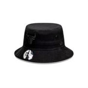 NewEra CHICAGO BULLS BUCKET HAT, BLACK