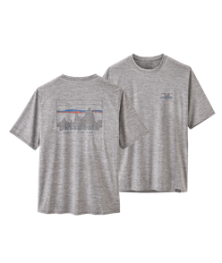 Patagonia Cap Cool Daily Graphic Shirt, 73 Skyline/Feather Grey