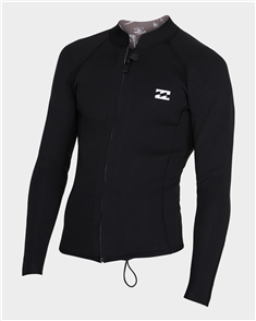 Billabong 2/2mm Revolution Pump Zip Jacket, Black