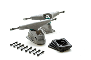Carver C7 Trucks Pair Set includes risers bolts