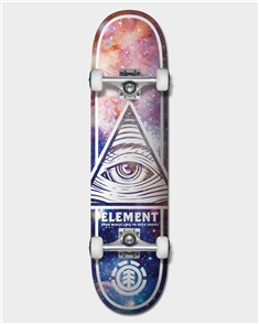 Element EYE TRIPPN COSMOS SKATE COMPLETE
